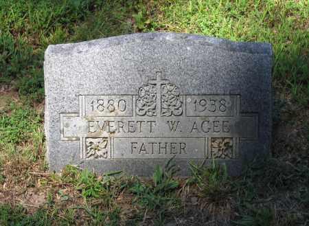 AGEE, EVERETT WALTER - Lawrence County, Arkansas | EVERETT WALTER AGEE - Arkansas Gravestone Photos