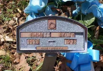 AKLEY (VETERAN WWII), EMMETT - Lawrence County, Arkansas | EMMETT AKLEY (VETERAN WWII) - Arkansas Gravestone Photos