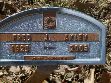 AKLEY (VETERAN WWII), FRED JAMES HENRY - Lawrence County, Arkansas | FRED JAMES HENRY AKLEY (VETERAN WWII) - Arkansas Gravestone Photos