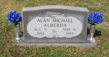 ALBERDA, ALAN MICHAEL - Lawrence County, Arkansas   ALAN MICHAEL ALBERDA - Arkansas Gravestone Photos