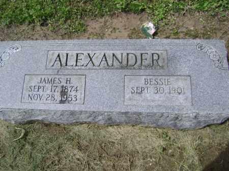ALEXANDER, JAMES H. - Lawrence County, Arkansas | JAMES H. ALEXANDER - Arkansas Gravestone Photos