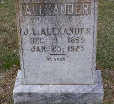 ALEXANDER, JAMES LAFAYETTE - Lawrence County, Arkansas | JAMES LAFAYETTE ALEXANDER - Arkansas Gravestone Photos