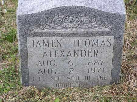 ALEXANDER, JAMES THOMAS - Lawrence County, Arkansas | JAMES THOMAS ALEXANDER - Arkansas Gravestone Photos