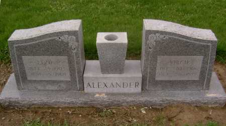 ALEXANDER, VIRGIE - Lawrence County, Arkansas | VIRGIE ALEXANDER - Arkansas Gravestone Photos