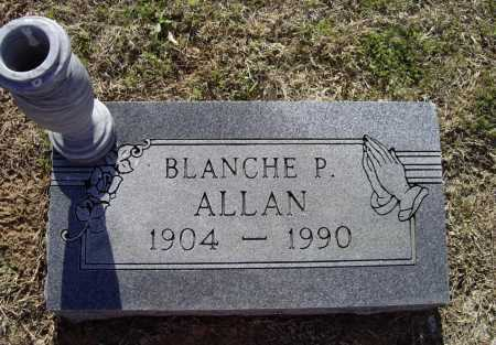 ALLAN, BLANCHE P. - Lawrence County, Arkansas | BLANCHE P. ALLAN - Arkansas Gravestone Photos