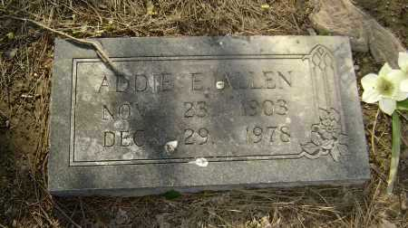 ALLEN, ADDIE ELIZABETH - Lawrence County, Arkansas | ADDIE ELIZABETH ALLEN - Arkansas Gravestone Photos