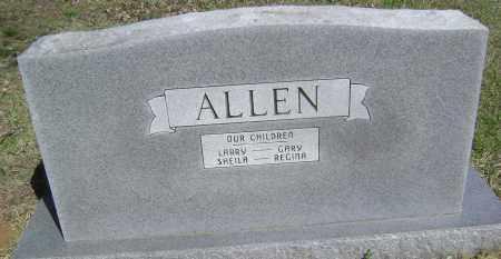 ALLEN, CHILDREN - Lawrence County, Arkansas | CHILDREN ALLEN - Arkansas Gravestone Photos
