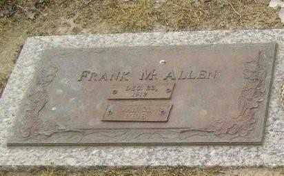 ALLEN, FRANK M. - Lawrence County, Arkansas | FRANK M. ALLEN - Arkansas Gravestone Photos