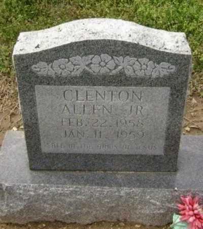 ALLEN, JR., CLENTON - Lawrence County, Arkansas   CLENTON ALLEN, JR. - Arkansas Gravestone Photos