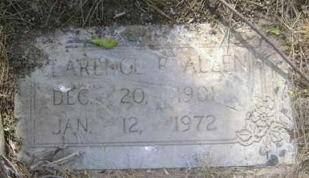 ALLEN, CLARENCE ROBERT - Lawrence County, Arkansas | CLARENCE ROBERT ALLEN - Arkansas Gravestone Photos
