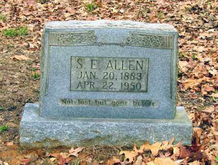 """ALLEN, SIDNEY ETHAN """"S.E."""" - Lawrence County, Arkansas 