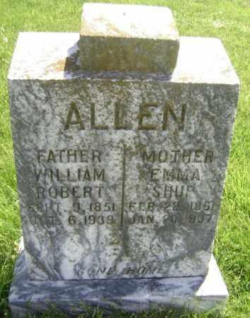 ALLEN, WILLIAM ROBERT - Lawrence County, Arkansas | WILLIAM ROBERT ALLEN - Arkansas Gravestone Photos