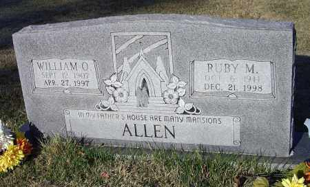 ALLEN, WILLIAM O. - Lawrence County, Arkansas | WILLIAM O. ALLEN - Arkansas Gravestone Photos