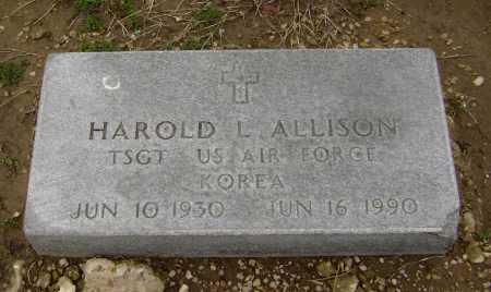 ALLISON  (VETERAN KOR), HAROLD L - Lawrence County, Arkansas | HAROLD L ALLISON  (VETERAN KOR) - Arkansas Gravestone Photos