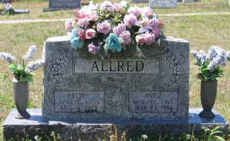 ALLRED, INEZ - Lawrence County, Arkansas | INEZ ALLRED - Arkansas Gravestone Photos