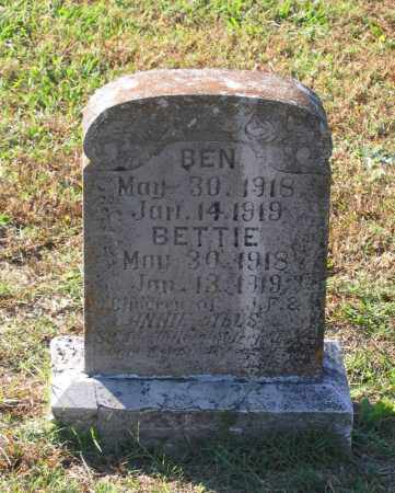 ALLS, BEN - Lawrence County, Arkansas | BEN ALLS - Arkansas Gravestone Photos