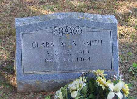 SMITH, CLARA CLARK ALLS - Lawrence County, Arkansas | CLARA CLARK ALLS SMITH - Arkansas Gravestone Photos