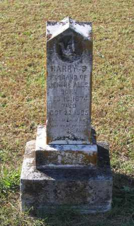 ALLS, HARRY S. - Lawrence County, Arkansas   HARRY S. ALLS - Arkansas Gravestone Photos