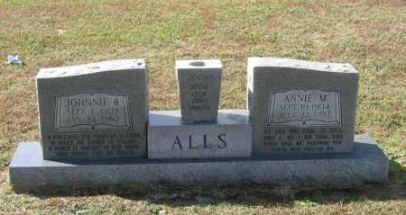 ALLS, ANNIE MAE - Lawrence County, Arkansas | ANNIE MAE ALLS - Arkansas Gravestone Photos