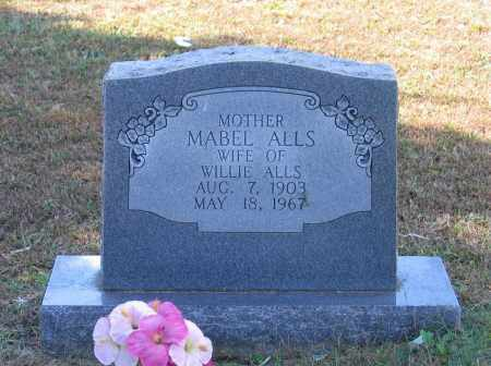 WRATHER ALLS, MABEL - Lawrence County, Arkansas | MABEL WRATHER ALLS - Arkansas Gravestone Photos
