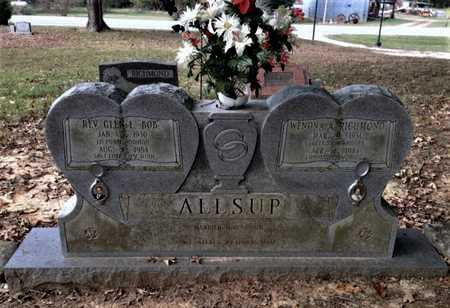 RICHMOND ALLSUP, WENONA ALICE - Lawrence County, Arkansas | WENONA ALICE RICHMOND ALLSUP - Arkansas Gravestone Photos