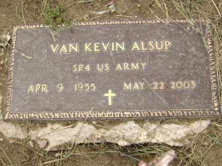 ALSUP  (VETERAN), VAN KEVIN - Lawrence County, Arkansas | VAN KEVIN ALSUP  (VETERAN) - Arkansas Gravestone Photos