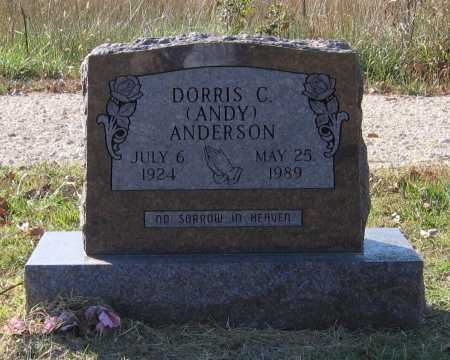 """ANDERSON, DORRIS C. """"ANDY"""" - Lawrence County, Arkansas 