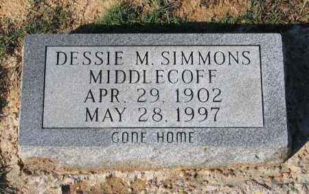 SIMMONS ANDERSON, DESSIE MAE - Lawrence County, Arkansas | DESSIE MAE SIMMONS ANDERSON - Arkansas Gravestone Photos
