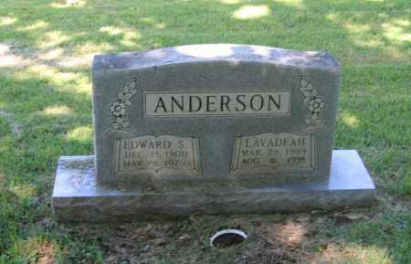 ANDERSON, EDWARD S. - Lawrence County, Arkansas | EDWARD S. ANDERSON - Arkansas Gravestone Photos