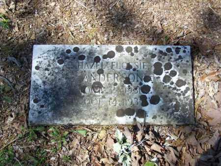 ANDERSON, HAZEL FLOSSIE - Lawrence County, Arkansas | HAZEL FLOSSIE ANDERSON - Arkansas Gravestone Photos