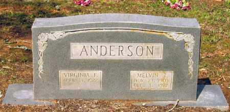 ANDERSON, MELVIN J. - Lawrence County, Arkansas   MELVIN J. ANDERSON - Arkansas Gravestone Photos