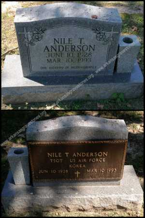 ANDERSON (VETERAN KOR), NILE T  - Lawrence County, Arkansas | NILE T  ANDERSON (VETERAN KOR) - Arkansas Gravestone Photos