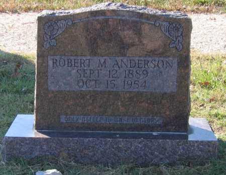 ANDERSON, ROBERT MONROE - Lawrence County, Arkansas | ROBERT MONROE ANDERSON - Arkansas Gravestone Photos