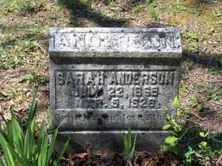 CONLEY ANDERSON, SARAH G. - Lawrence County, Arkansas | SARAH G. CONLEY ANDERSON - Arkansas Gravestone Photos