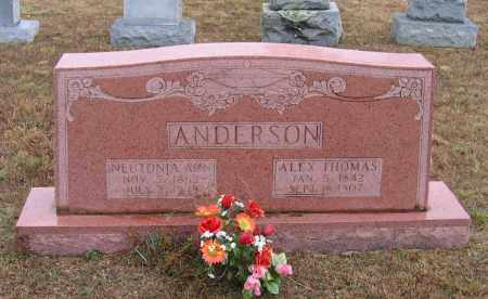 "ANDERSON, NEUTONIA ANN ""TONIE"" - Lawrence County, Arkansas 