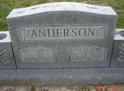 ANDERSON, KATE M. - Lawrence County, Arkansas | KATE M. ANDERSON - Arkansas Gravestone Photos