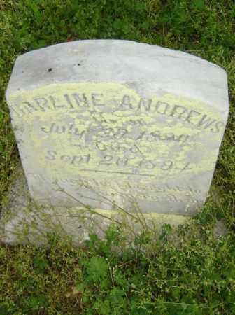 ANDREWS, DARLINE - Lawrence County, Arkansas | DARLINE ANDREWS - Arkansas Gravestone Photos