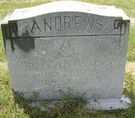 ANDREWS, MD, FERD - Lawrence County, Arkansas   FERD ANDREWS, MD - Arkansas Gravestone Photos