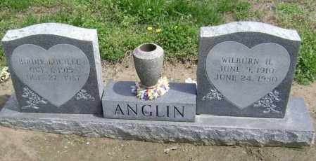 ANGLIN, WILBURN H - Lawrence County, Arkansas | WILBURN H ANGLIN - Arkansas Gravestone Photos