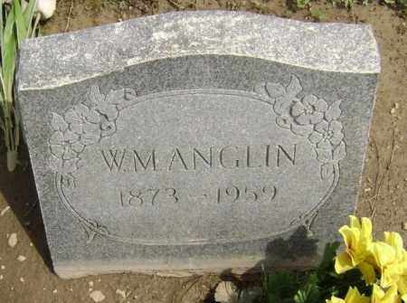 "ANGLIN, WILLIAM M.  ""W. M."" - Lawrence County, Arkansas 