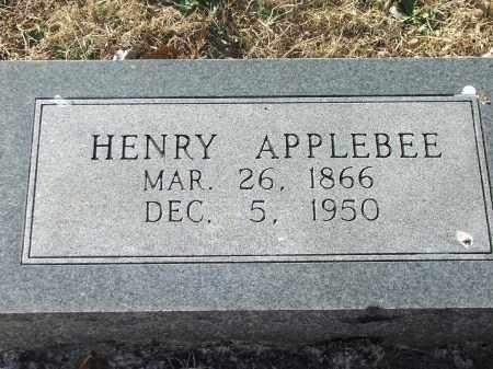 APPLEBEE, HENRY - Lawrence County, Arkansas | HENRY APPLEBEE - Arkansas Gravestone Photos