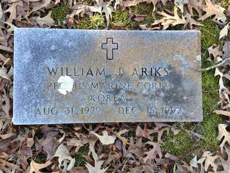 ARIKS (VETERAN KOR), WILLIAM J. - Lawrence County, Arkansas | WILLIAM J. ARIKS (VETERAN KOR) - Arkansas Gravestone Photos