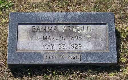 ARNOLD, BAMMA MAXWELL - Lawrence County, Arkansas | BAMMA MAXWELL ARNOLD - Arkansas Gravestone Photos