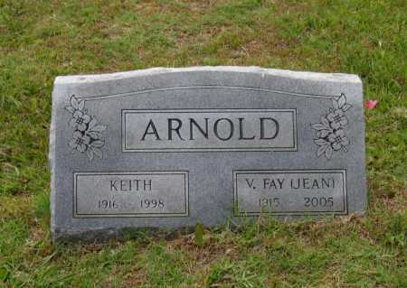 JEAN ARNOLD, VIRGINIA FAY - Lawrence County, Arkansas | VIRGINIA FAY JEAN ARNOLD - Arkansas Gravestone Photos