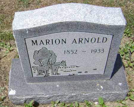 ARNOLD, MARION - Lawrence County, Arkansas | MARION ARNOLD - Arkansas Gravestone Photos