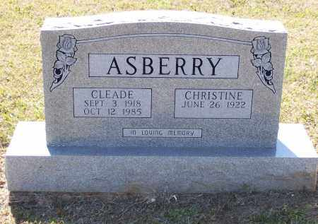 ASBERRY, JEWELL CLEADE - Lawrence County, Arkansas | JEWELL CLEADE ASBERRY - Arkansas Gravestone Photos