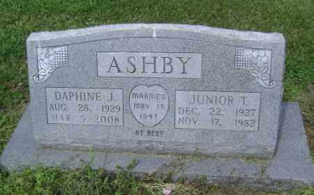 ASHBY, JUNIOR TROY - Lawrence County, Arkansas | JUNIOR TROY ASHBY - Arkansas Gravestone Photos