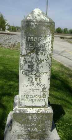ASHBY, MARY ELLA - Lawrence County, Arkansas | MARY ELLA ASHBY - Arkansas Gravestone Photos