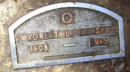 ASHBY, ROBERT L. - Lawrence County, Arkansas   ROBERT L. ASHBY - Arkansas Gravestone Photos
