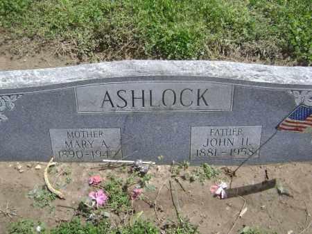 ASHLOCK, MARY A. - Lawrence County, Arkansas | MARY A. ASHLOCK - Arkansas Gravestone Photos